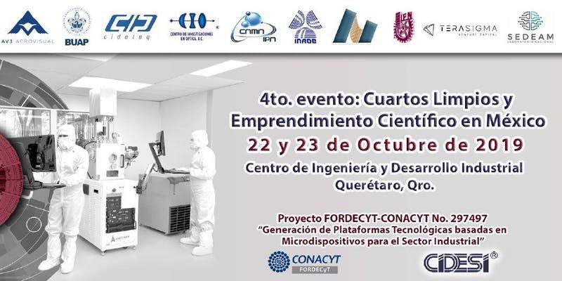 4t0. Evento Cuartos Limpios Querétaro Oct-2019